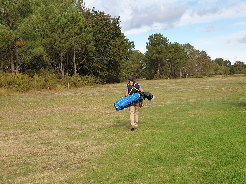 Balata golf practice